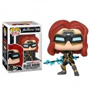 Funko Pop Marvel Avengers Game Black Widow Stark Tec 630