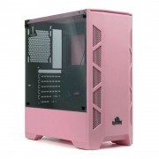 Gabinete Gamer Redragon Starscream GC-610P Rosa