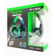Headset Gamer Camuflado Xp-4 Selva Tecdrive Pc Xbox One Ps4 Verde e Verde