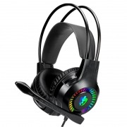 Headset Gamer Evolut USB/2xP2 EG304 Apolo Preto