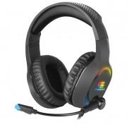 Headset Gamer Fortrek Holt USB, P2 e P3 RGB
