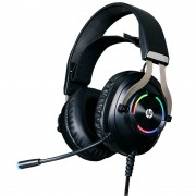 Headset Gamer HP 7.1 Virtual USB H360GS Preto