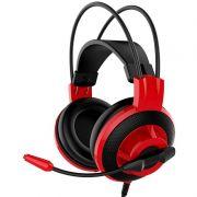 Headset Gamer MSI DS501 Vermelho