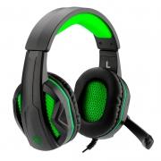 Headset Gamer T-dagger Cook P2 Preto e Verde