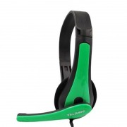 Headset Gamer TecDrive F-6 Verde