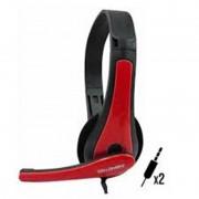 Headset Gamer TecDrive F-6 Vermelho