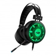 Headset Gamer USB C3T Tech 7.1 Kestrel PH-G720BK RGB Preto