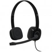 Headset Logitech H151 Estéreo Preto