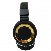 Headset SH18 Deep Bass Wireless 7&7 Dourado