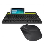 Kit Home Office Mouse Sem Fio Logitech M280 + Teclado Sem Fio Logitech K480 Multi-device