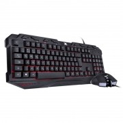 kit Teclado e Mouse Gamer VX Gaming Vinik Kraken Led RGB