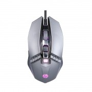 Mouse Gamer HP M270 2400DPI LED 6 Botões Chumbo