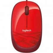 Mouse Logitech M105 1000DPI 910-002959 Vermelho