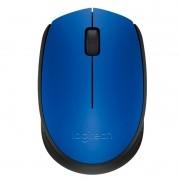 Mouse Sem Fio Logitech M170 Azul Wireless