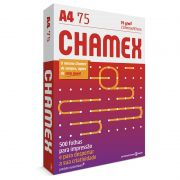 Papel Sulfite Chamex A4 Branco 500 Folhas 75g