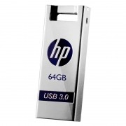 Pen Drive HP 64GB USB 3.0 X795W Prata