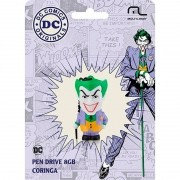 Pen Drive Multilaser Dc Comics Coringa 8GB PD088