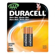 Pilha Alcalina Duracell AAA Com 2 Unidades