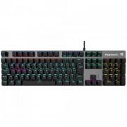 Teclado Gamer Fortrek Mecânico Black Hawk RGB ABNT2 Preto