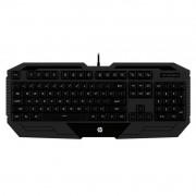 Teclado Gamer HP USB K130 Preto