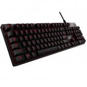 Teclado Gamer Logitech G413 Carbon Mecânico LED Vermelho