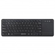 Teclado Sem Fio C3 Tech Com Touchpad K-WT100BK ABNT2