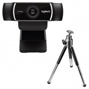Webcam Logitech C922 Pro Stream Full HD 1080P Com Tripé