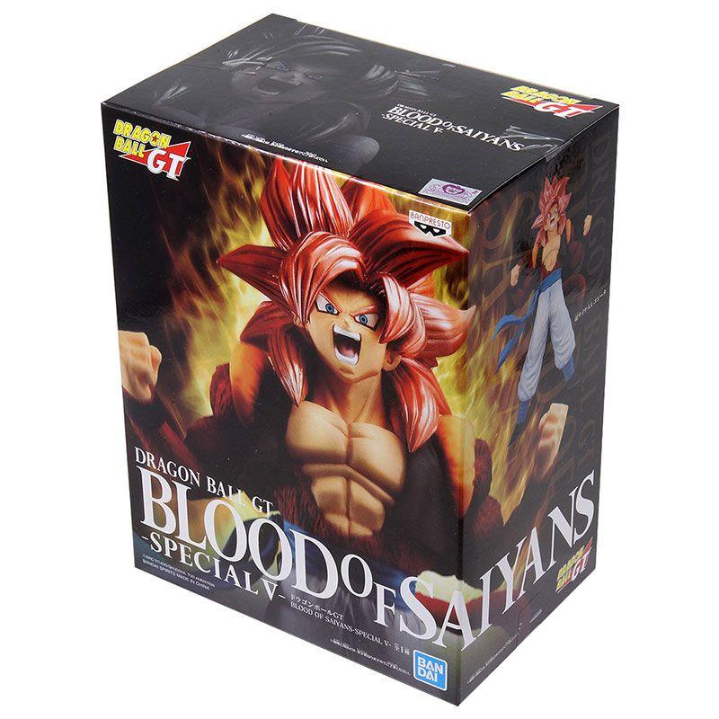 Action Figure Dragon Ball GT Blood Of Saiyan Special V Super Saiyan 4 Gogeta - 29446/29447