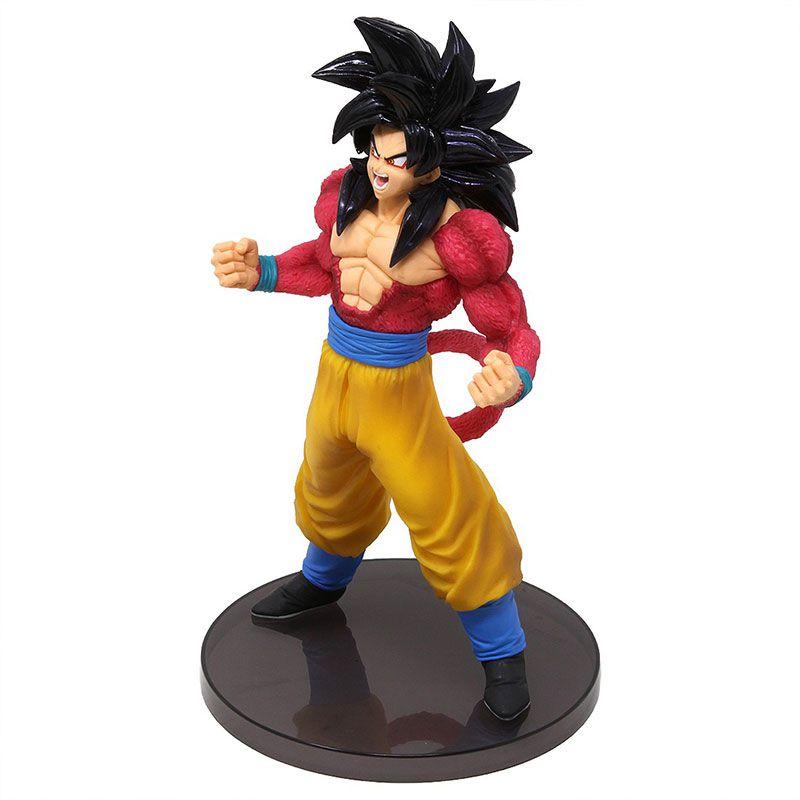 Action Figure Dragon Ball GT Blood Of Saiyans Special III Super Saiyan 4 Goku - 34948/34949