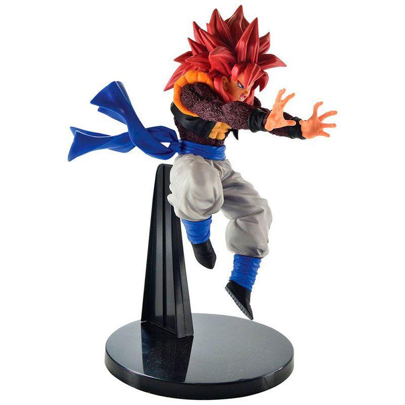 Action Figure Dragon Ball GT Ultimate Fusion Big Bang Kamehameha Super Saiyan 4 Gogeta