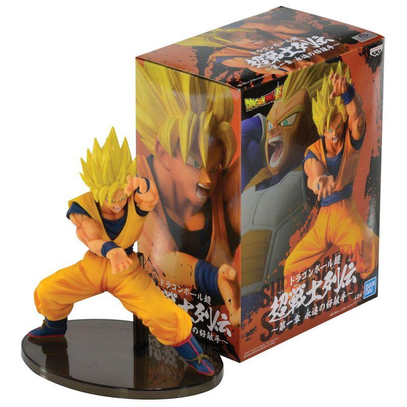 Action Figure Dragon Ball Super Chosenshiretsuden VOL1 Super Saiyan Goku - 25205/25206