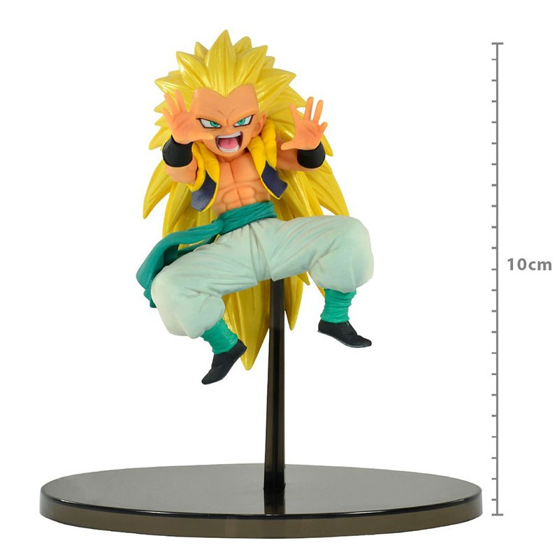 Action Figure Dragon Ball Super Chosenshiretsuden Vol. 2 Super Saiyan 3 Gotenks 29542/29543