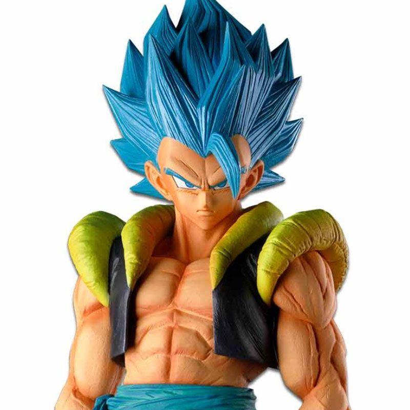 Action Figure Dragon Ball Super Master Stars Piece The Gogeta The Brush Super Saiyan Blue 20315/20316