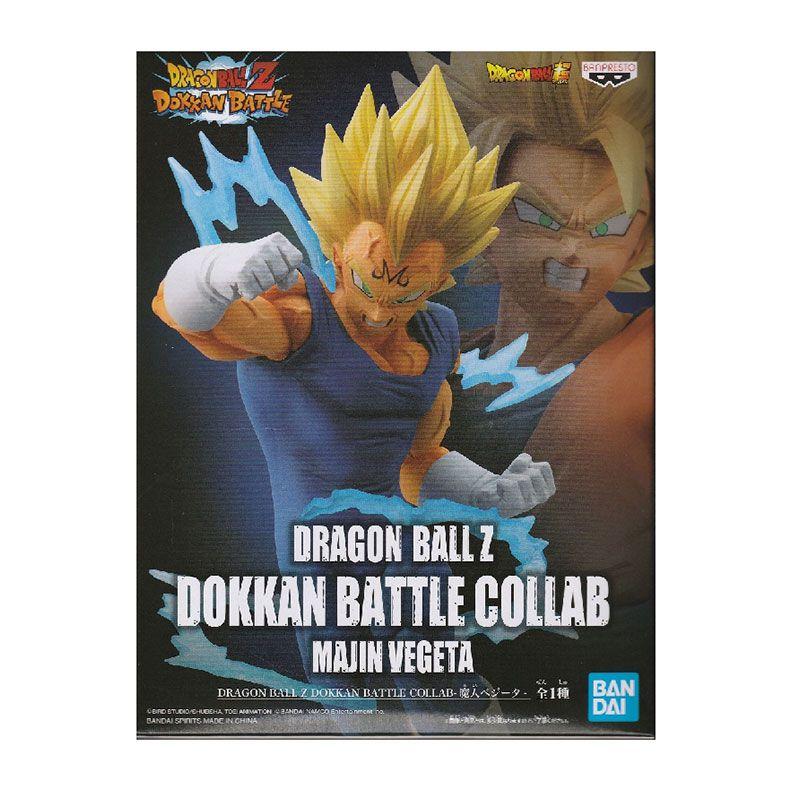 Action Figure Dragon Ball Z Dokkan Battle Collab Majin Vegeta 20358/20359