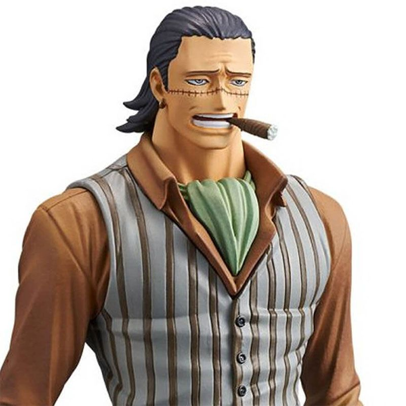 Action Figure One Piece Stampede Movie DXF The Grandline Men Vol. 4 Sir Crocodile 29585/29586