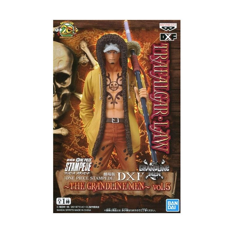 Action Figure One Piece Stampede Movie DXF The Grandline Men Vol. 5 Trafalgar Law 29797/29798