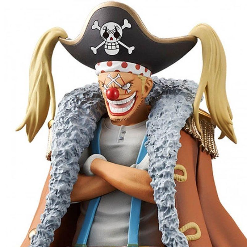 Action Figure One Piece Stampede movie DXF The Grandline Men Vol. 6 Buggy 29787/29788