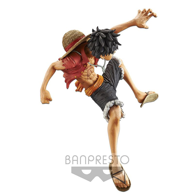 Action Figure One Piece Stampede Movie King Of Artist The Monkey D-Luffy 29568/29569