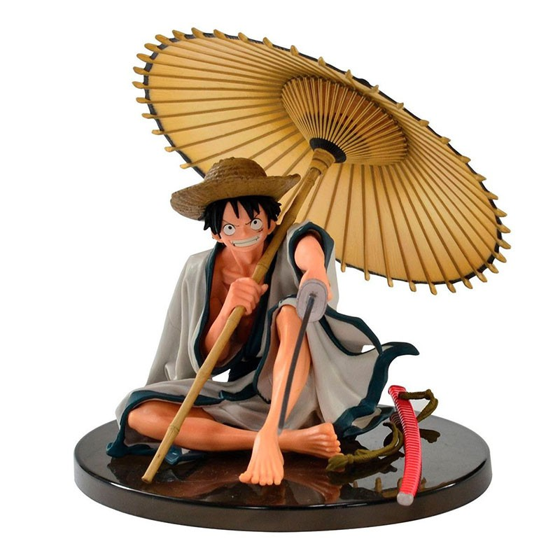 Action Figure One Piece World Colosseum 2 Monkey D. Luffy Vol. 6 34938/34939