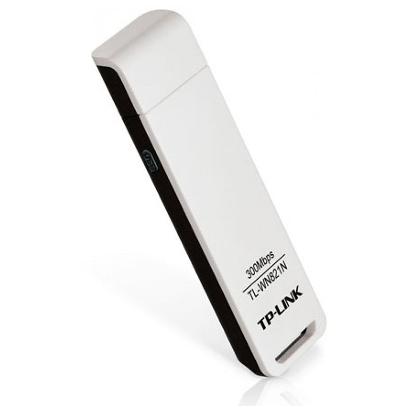 Adaptador Wireless USB TP-Link 300Mbps TL-WN821N