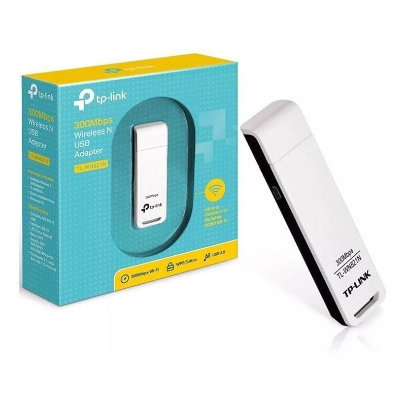 Adaptador Wireless USB TP-Link 300Mbps TL-WN821N