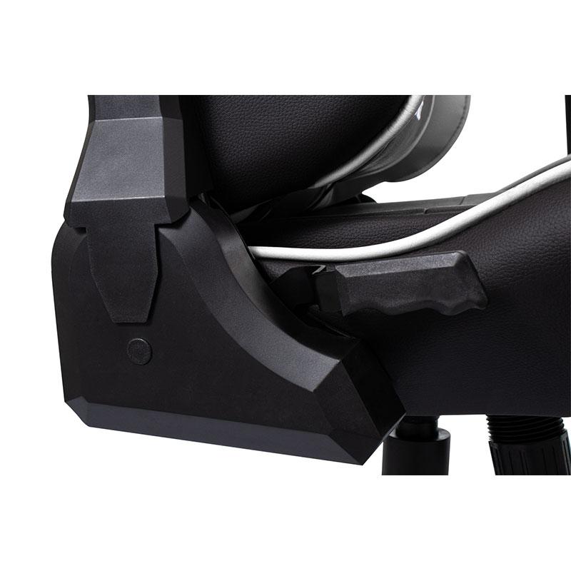 Cadeira Gamer Evolut EG900 Santos E-SPORTS Branco e Preto