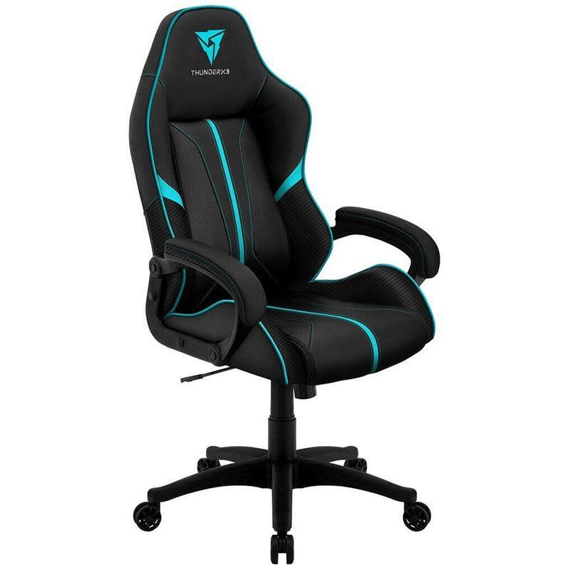 Cadeira Gamer ThunderX3 AIR BC-1 En61867 Preta/Ciano