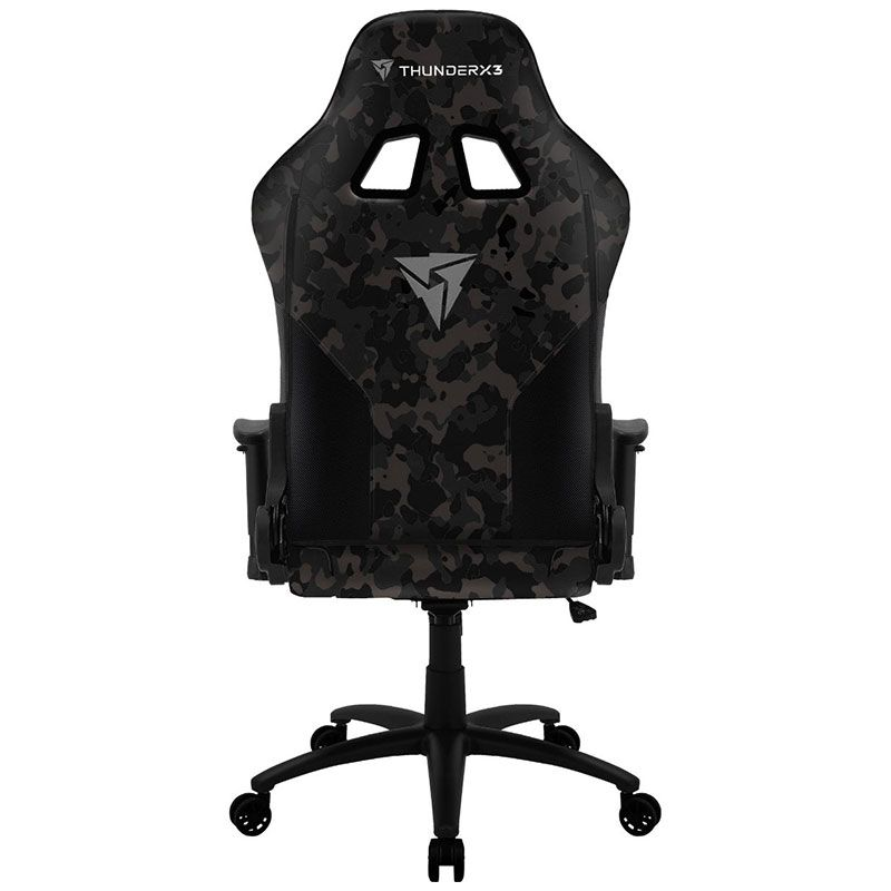 Cadeira Gamer ThunderX3 BC3 Camuflada Cinza