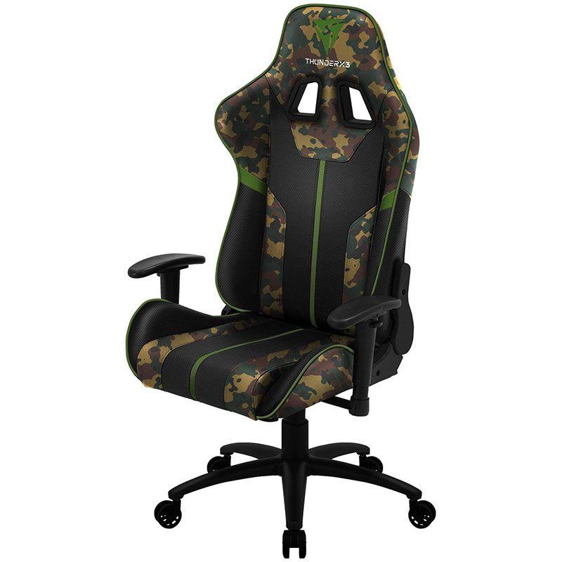 Cadeira Gamer ThunderX3 BC3 Military Camo/VD