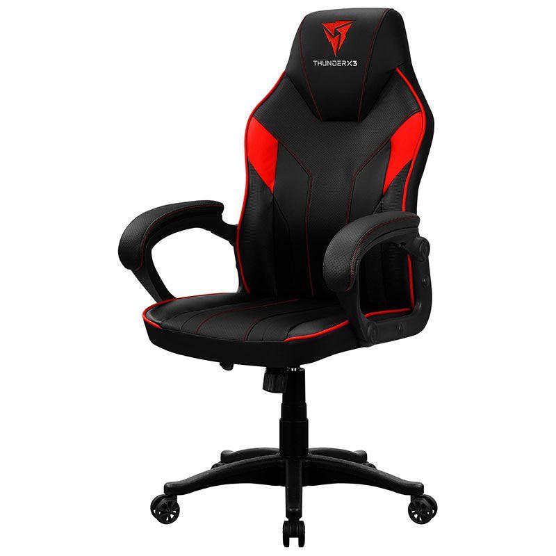 Cadeira Gamer ThunderX3 EC1 Vermelha e Preta