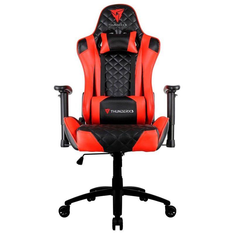 Cadeira Gamer ThunderX3 TGC12 Vermelha e Preta