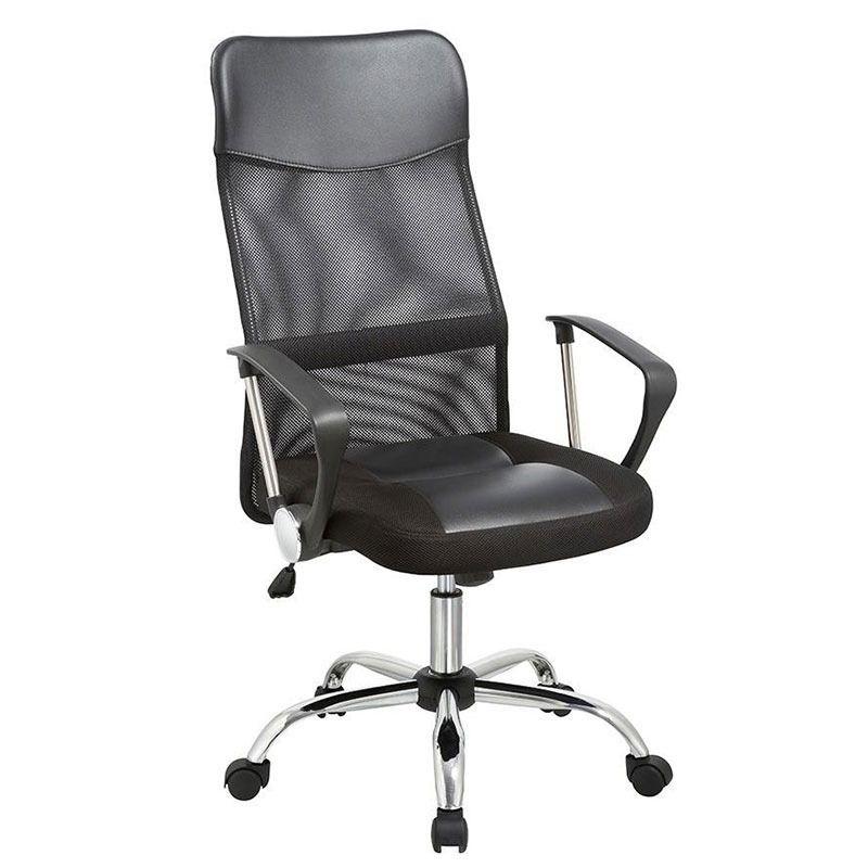 Cadeira Secretária SA-4006BK Ideer-Life