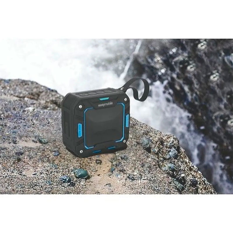 Caixa de Som Bluetooth Easy Mobile Active Box Azul