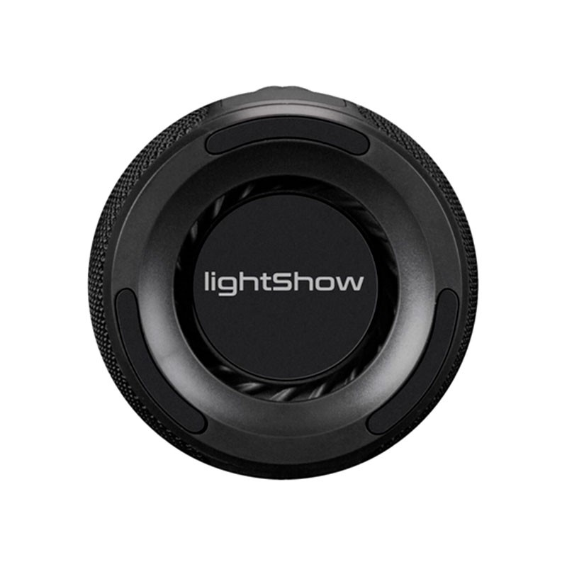 Caixa de Som Bluetooth Novik USB Light Show 8W com LED